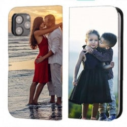 Etui rabattable recto verso personnalisé pour Iphone 13 Mini