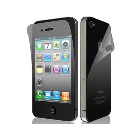 Films de protection RECTO VERSO pour iPhone 4 et 4S