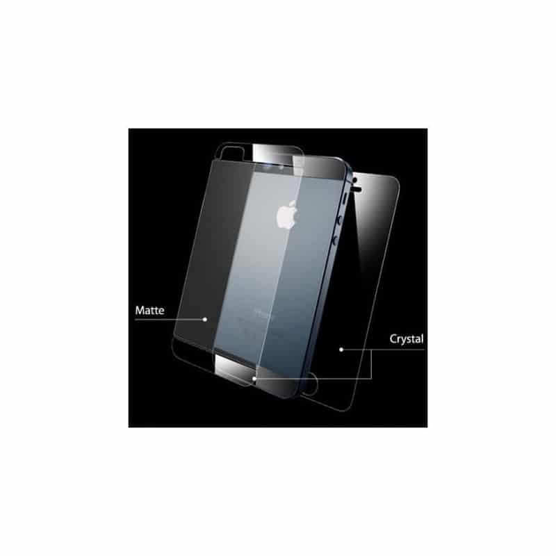 Films de protection RECTO VERSO pour iPhone 5, 5S et 5C