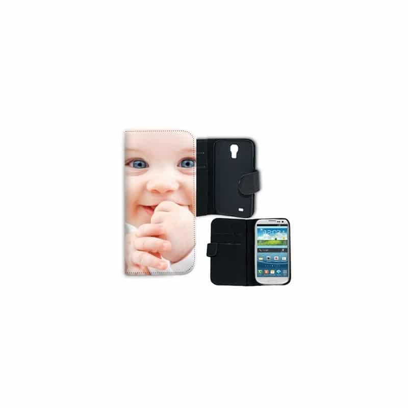 Etui rabattable personnalisé pour Samsung Galaxy S4 Mini