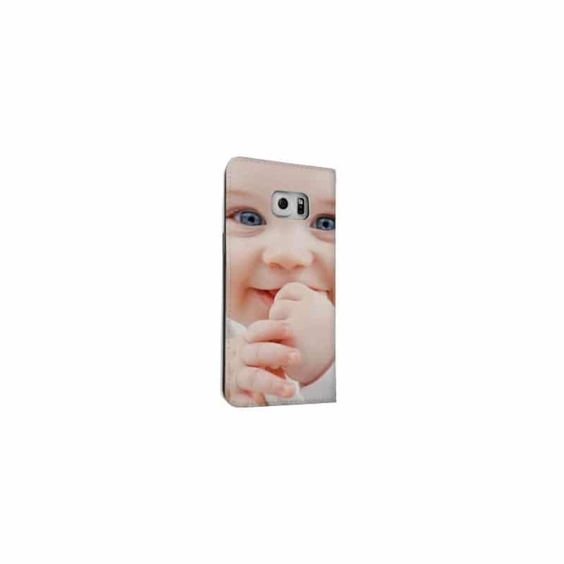 Etui rabattable à personnaliser Samsung Galaxy S6 Edge