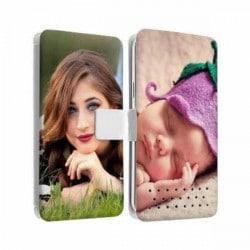 Etui Rabattable à personnaliser RECTO VERSO HTC Desire 530