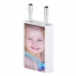 Mini chargeur secteur 220V pour téléphones, tablettes ou lecteurs MP3