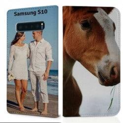 Etui rabattable Personnalisé Samsung Galaxy S10