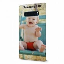 Etui rabattable Personnalisé Samsung Galaxy S10 plus