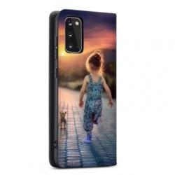 Etui rabattable Personnalisé Samsung Galaxy S20