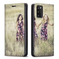 Etui rabattable recto versoPersonnalisé Samsung Galaxy S20+