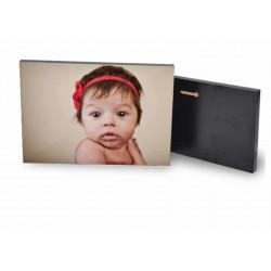 Cadre Photo Rectangulaire en Bois avec Pieds - 3d: 20 x 15 cm