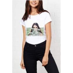 T-shirt femme Personnalisé taille L