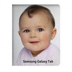 Etui rabattable à personnaliser Samsung Galaxy TAB S6 lite ( 10,4 pouces )
