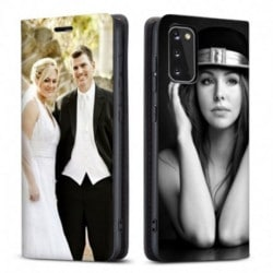 Etui rabattable Personnalisé Samsung Galaxy S20 FE