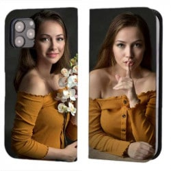 Etui rabattable personnalisé pour Iphone 12 Pro